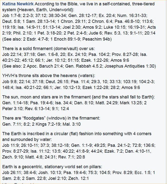 Bible verses supporting the flat earth a flat earth with a domed firmament set on a foundation with pillars publicscrutiny Image collections